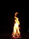 Beim Lagerfeuer