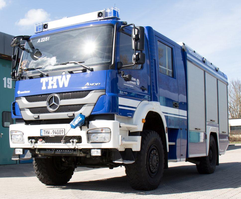 B B Augsburg thw ov augsburg gerätekraftwagen gkw